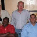 Namibia - B Rushworth with NAMCOR and Ministry representatives