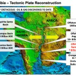Namibia - Tectonic Plate Reconstruction